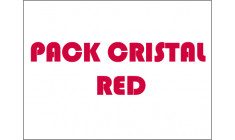 PACK CRISTAL red